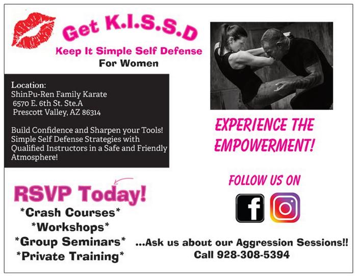 GET K I S S D  Extended Self Defense Course Prescott, AZ